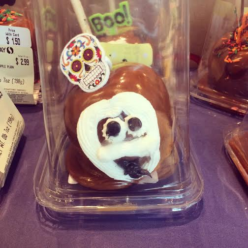 This is totally irrelevant but I am still finding it hilarious (via the Safeway pastry dept.)